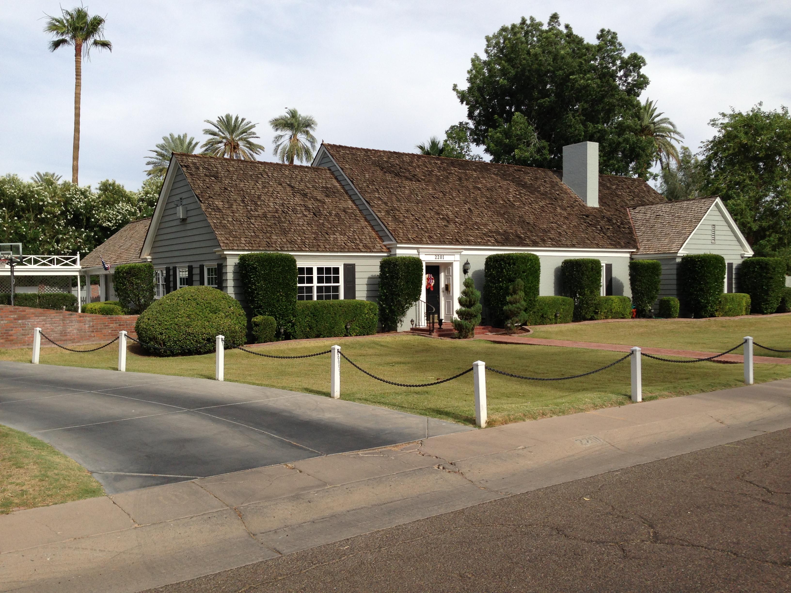 Alvarado historic district homes for sale in phoenix arizona for Victorian houses for sale in arizona