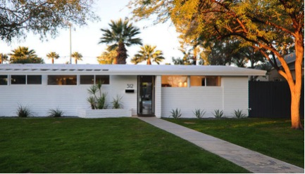 mid century modern neighborhoods