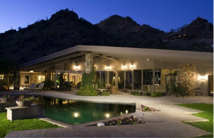 Mid century modern homes over 1m in phoenix arizona for Modern home builders phoenix