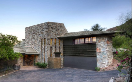 Mid century modern homes over 1m in phoenix arizona Model home furniture auction phoenix az