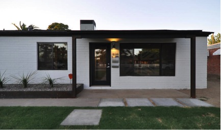 Mid century modern homes between 200k 300k in phoenix for Modern home builders phoenix